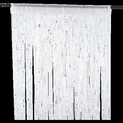 Rideau fil à fil blanc 90x260cm-FILOU