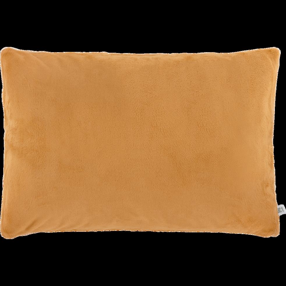 Housse de coussin effet doux beige nèfle 40x60cm-ROBIN
