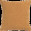 Coussin en lin lavé beige nèfle 45x45cm-VENCE