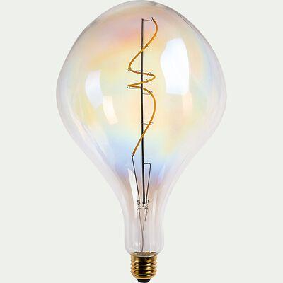 Ampoule LED déco à filament fantaisie lumière chaude - D16cm-AMPOULE