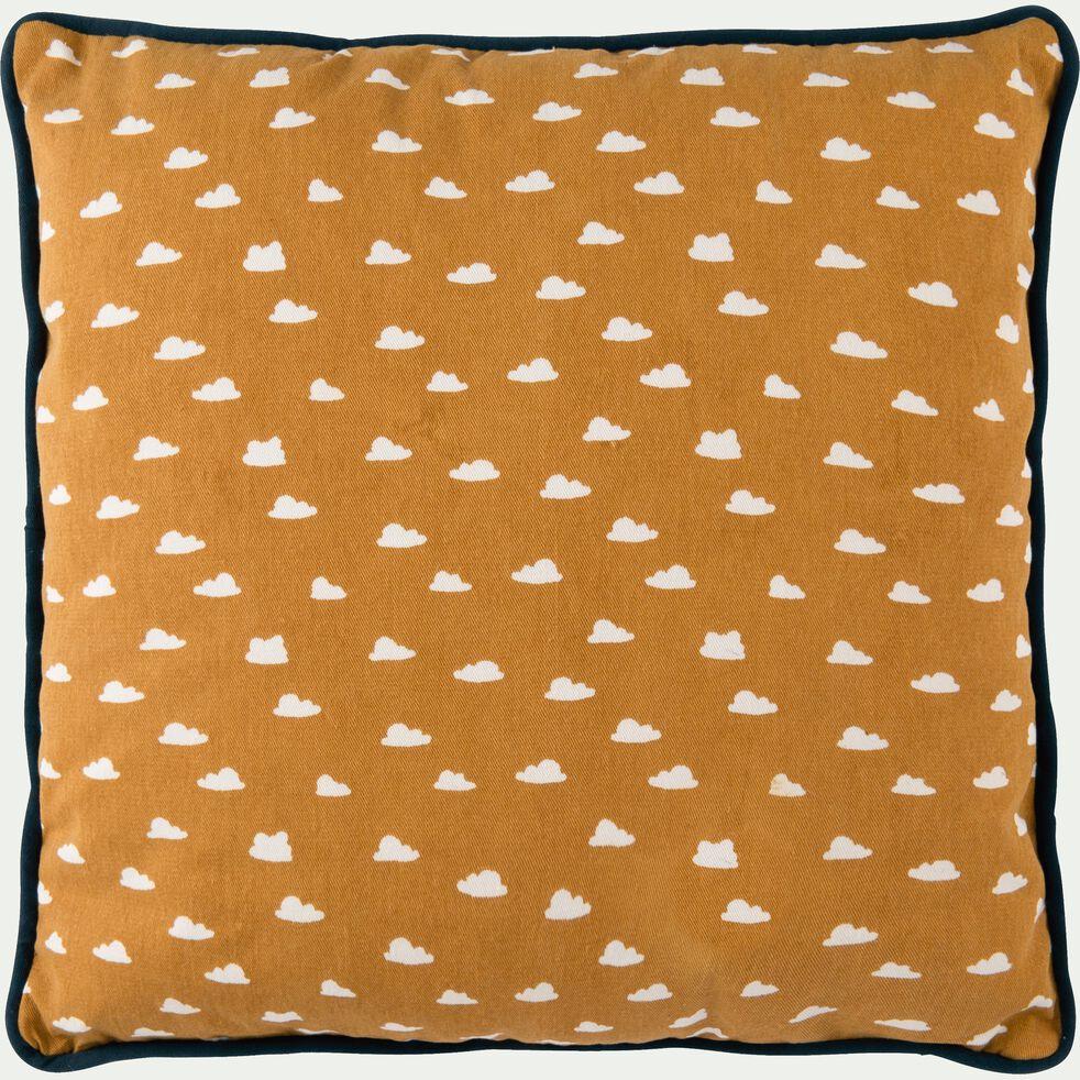Coussin motif nuage beige nefle 40X40CM-NUAGE