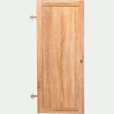 Porte pleine en bois - chêne clair H95,7cm-Biala