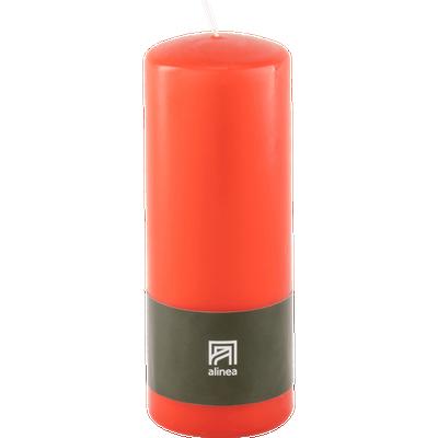 Bougie cylindrique rouge azerole-HALBA