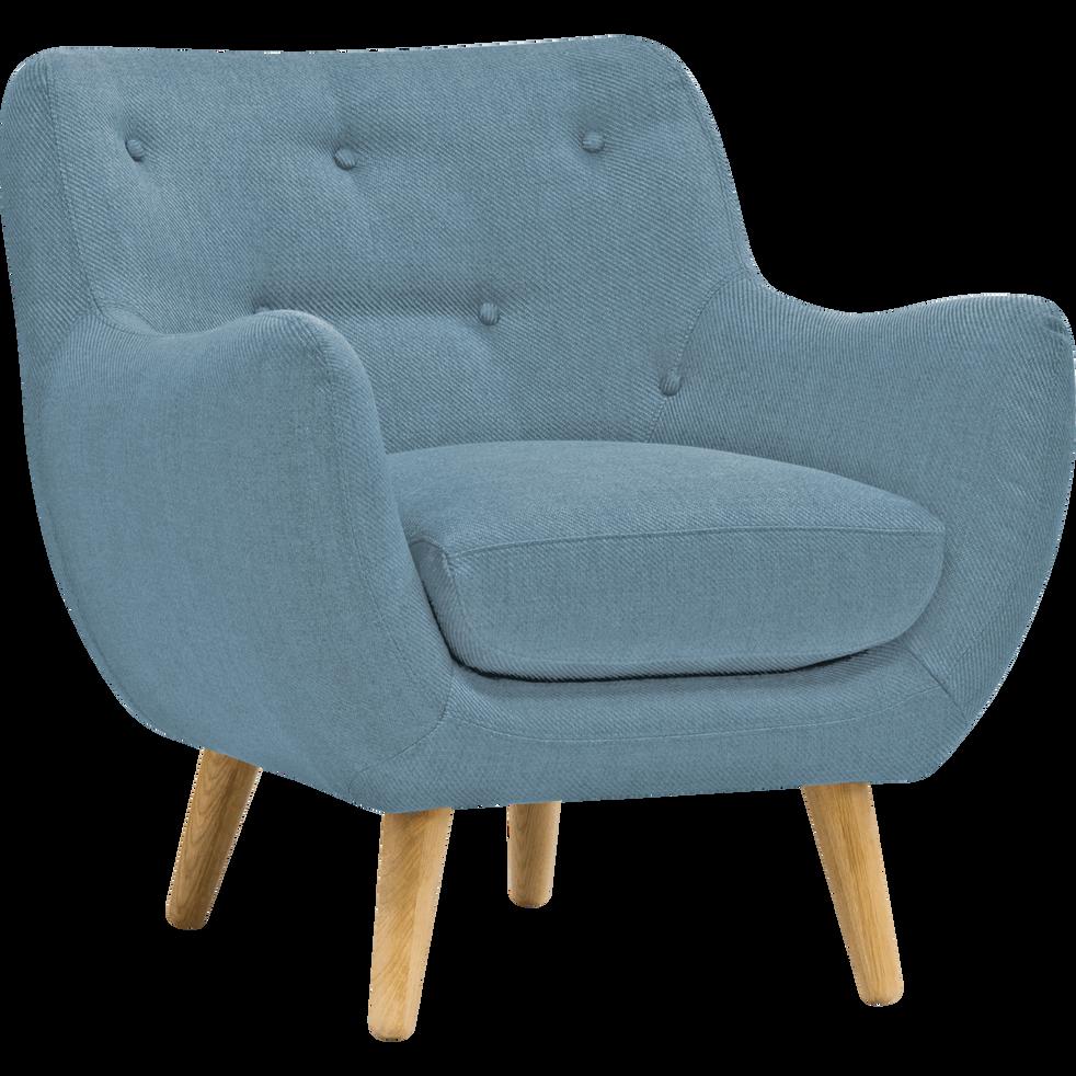 fauteuil scandinave bleu ciel. Black Bedroom Furniture Sets. Home Design Ideas