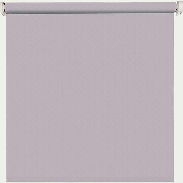Store enrouleur uni tamisant - gris clair 90x190cm-TAMISANT