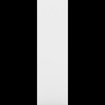 Montants extérieurs blancs de bibliothèque h125cm-LORENA