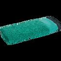Serviette invite coton et lin 30X50cm vert menthe-ADONI