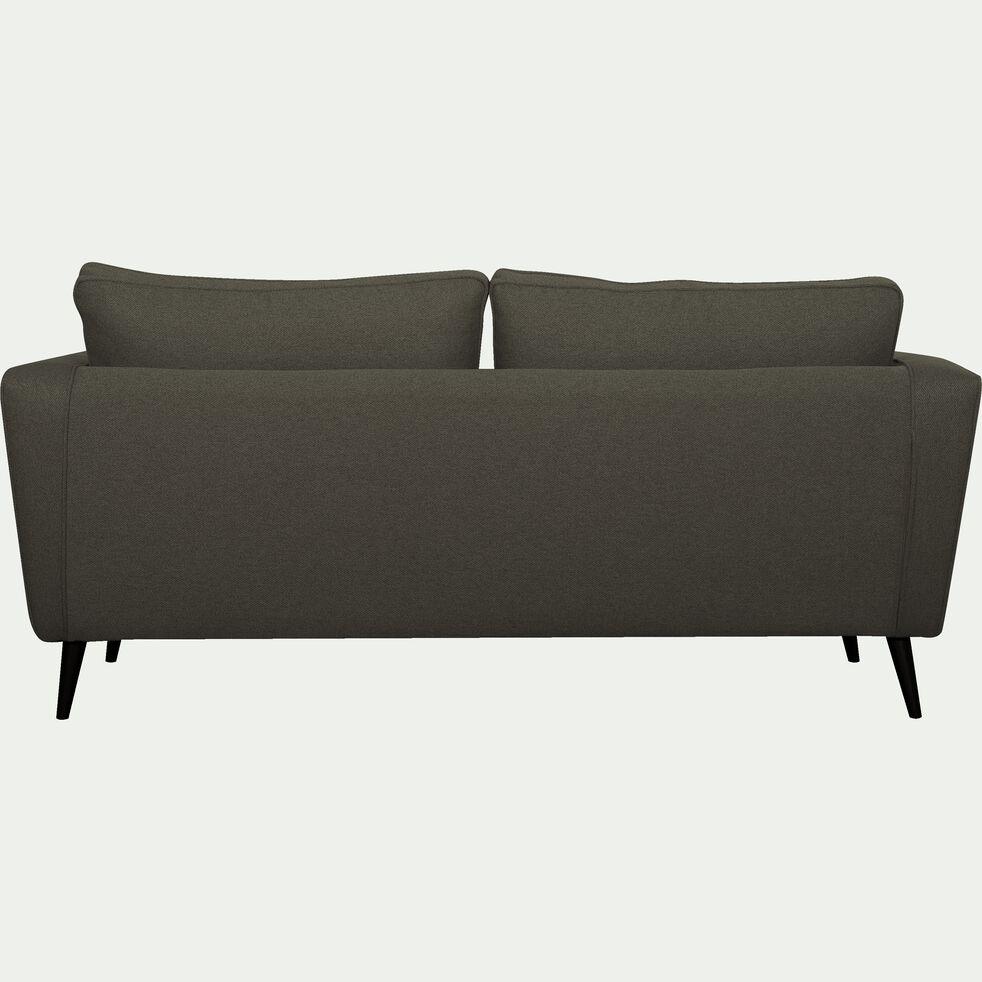 Canapé fixe 3 places en tissu - gris vesuve-BARTHOLE