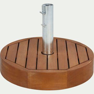 Pied de parasol en acacia 27,5kg-CROISETTE