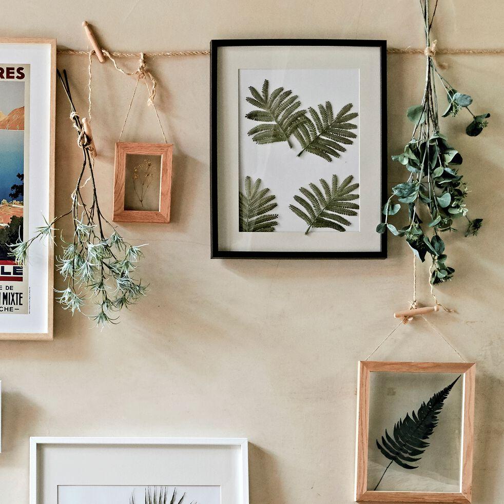 Cadre photo en bois - 40x50 noir-Hapa