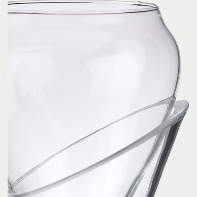 Carafe à décanter en verre transparent 1,2L-CALAFATE