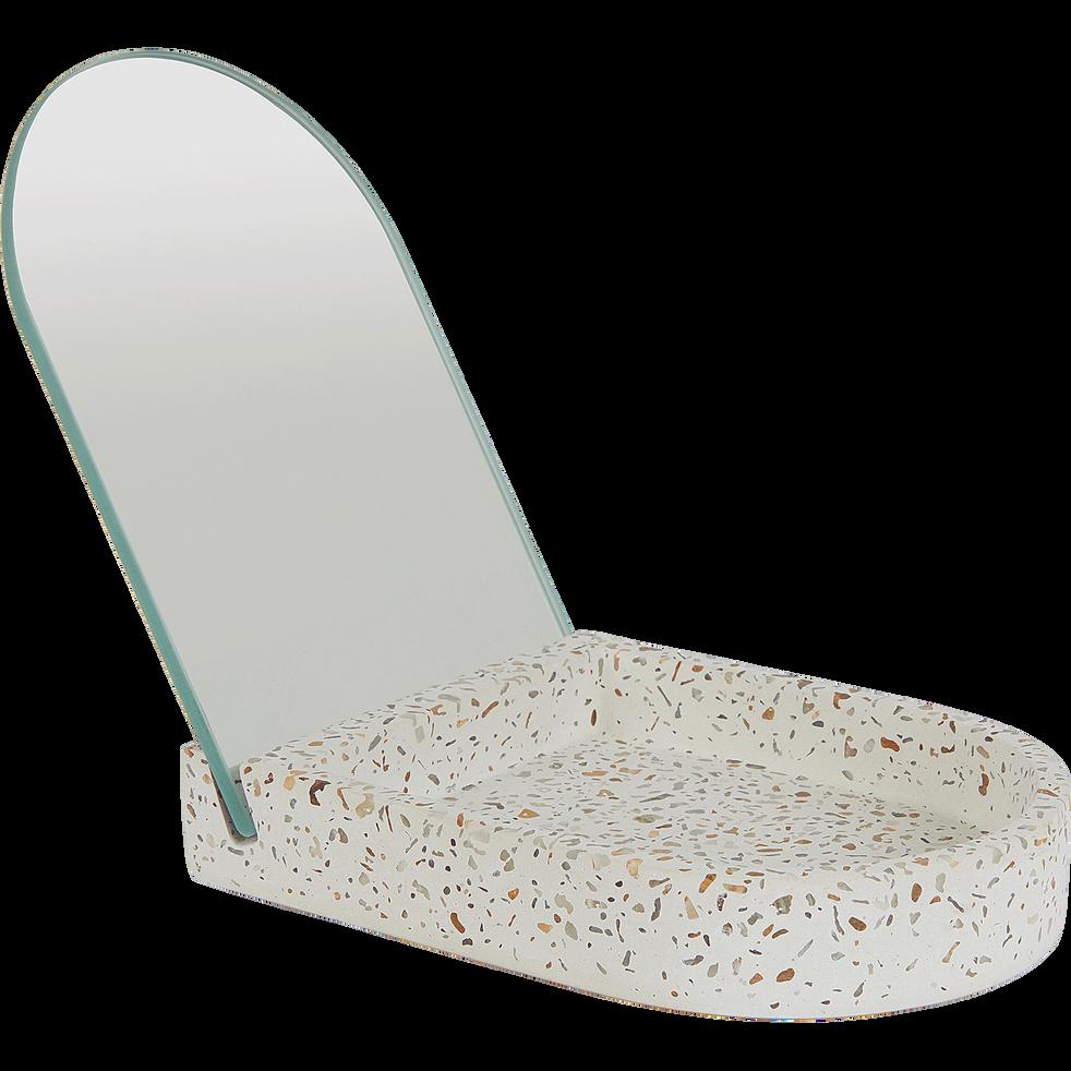 Petit miroir de salle de bains-TERRAIO