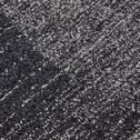 Tapis bicolore bleu et blanc 160x230cm-luno