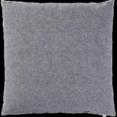 Coussin chambray gris restanque 40x40cm-CORBIERE
