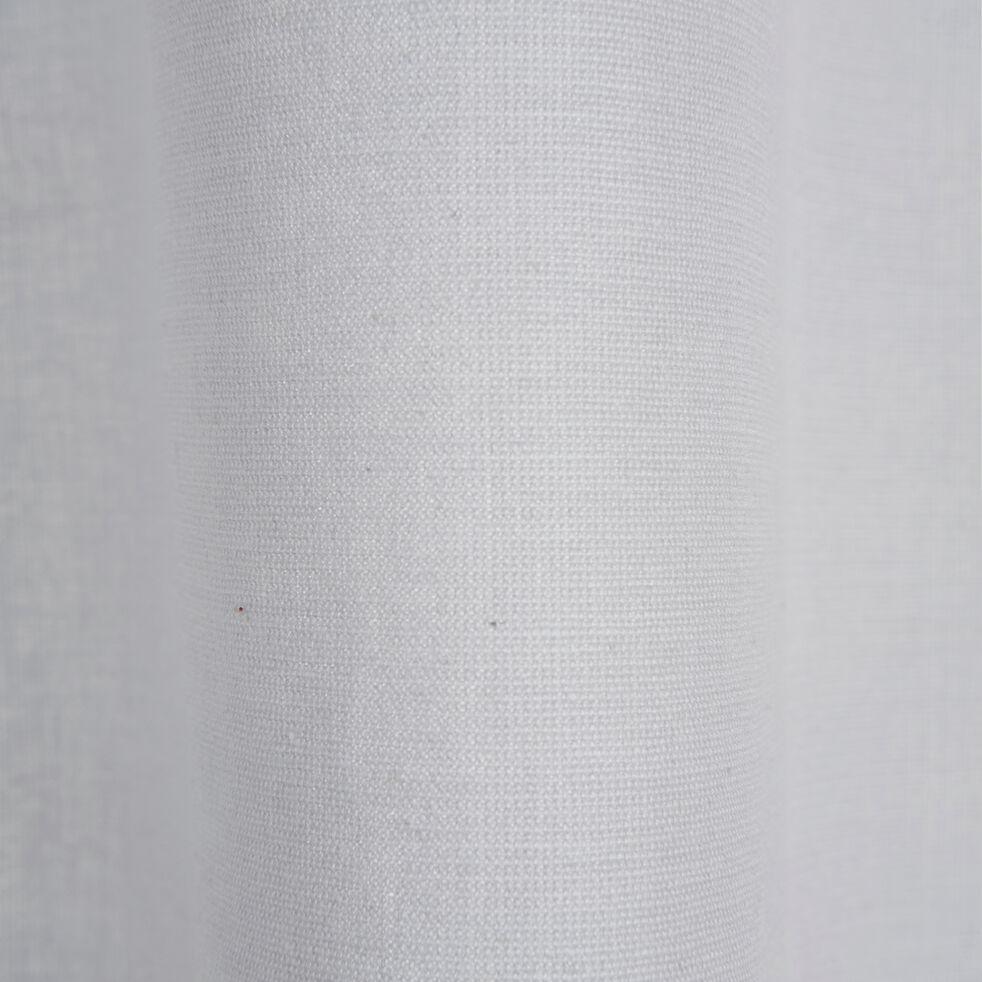 Rideau à œillets en coton - gris borie 140x300cm-CALANQUES