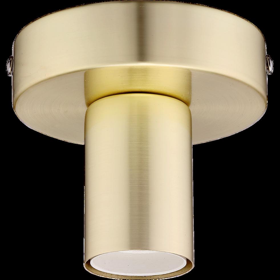 Applique plafonnier en acier doré H9,2cm-KELLY