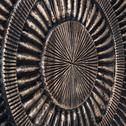 Décoration murale en bois cuivré D90cm-MAKATI