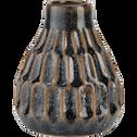 Vase en céramique vert H12cm-NARYN