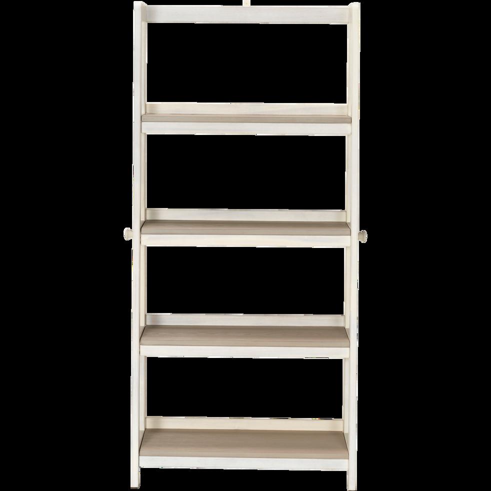 tag re en acacia h130cm 4 tablettes pour enfant jules tag res et biblioth ques enfant. Black Bedroom Furniture Sets. Home Design Ideas