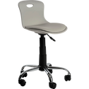 Chaise de bureau enfant Gris clair-LYLO