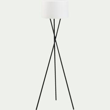 Lampadaire extérieur aux couleurs variables - blanc D40xH150cm-TAMBOURY