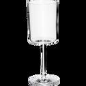Verre à vin en verre transparent 34cl-CELLA