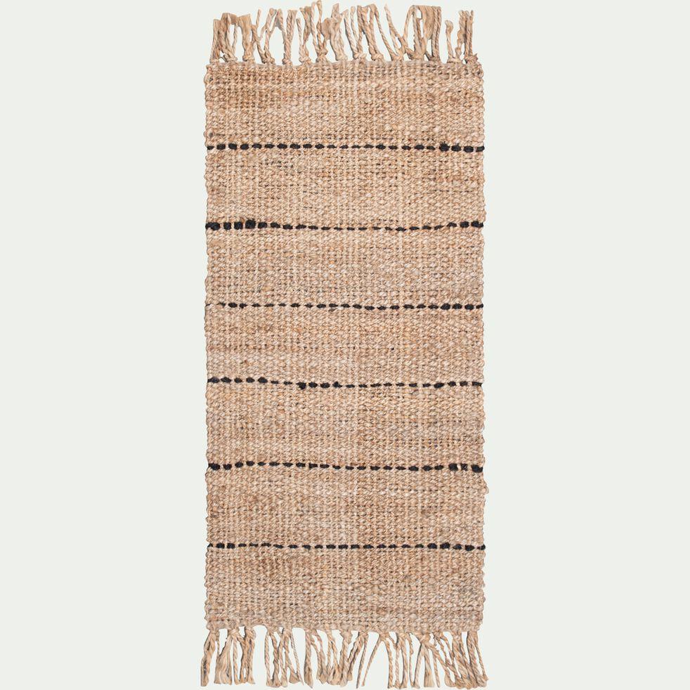 Tapis en jute - naturel 60x120cm-KEPIR