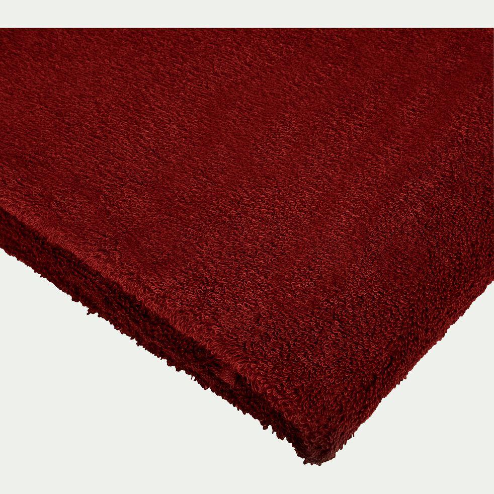 Drap de bain 100x150cm rouge sumac-ARROS