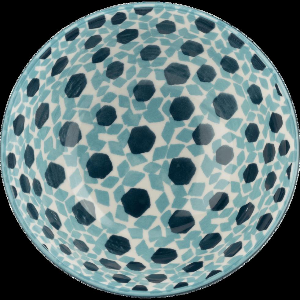 Coupelle en grès bleu D11,5cm-ZELLIGES