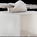 Étagère en lin à 6 cases blanche-ERRO