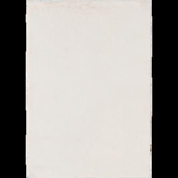 Tapis imitation fourrure blanc ventoux 150x200cm-ROBIN