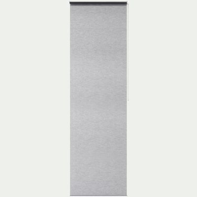 Store enrouleur voile gris 52x170cm-EASY VOILE