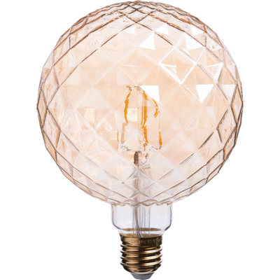 Ampoule décorative LED D12,5cm culot E27-PIN