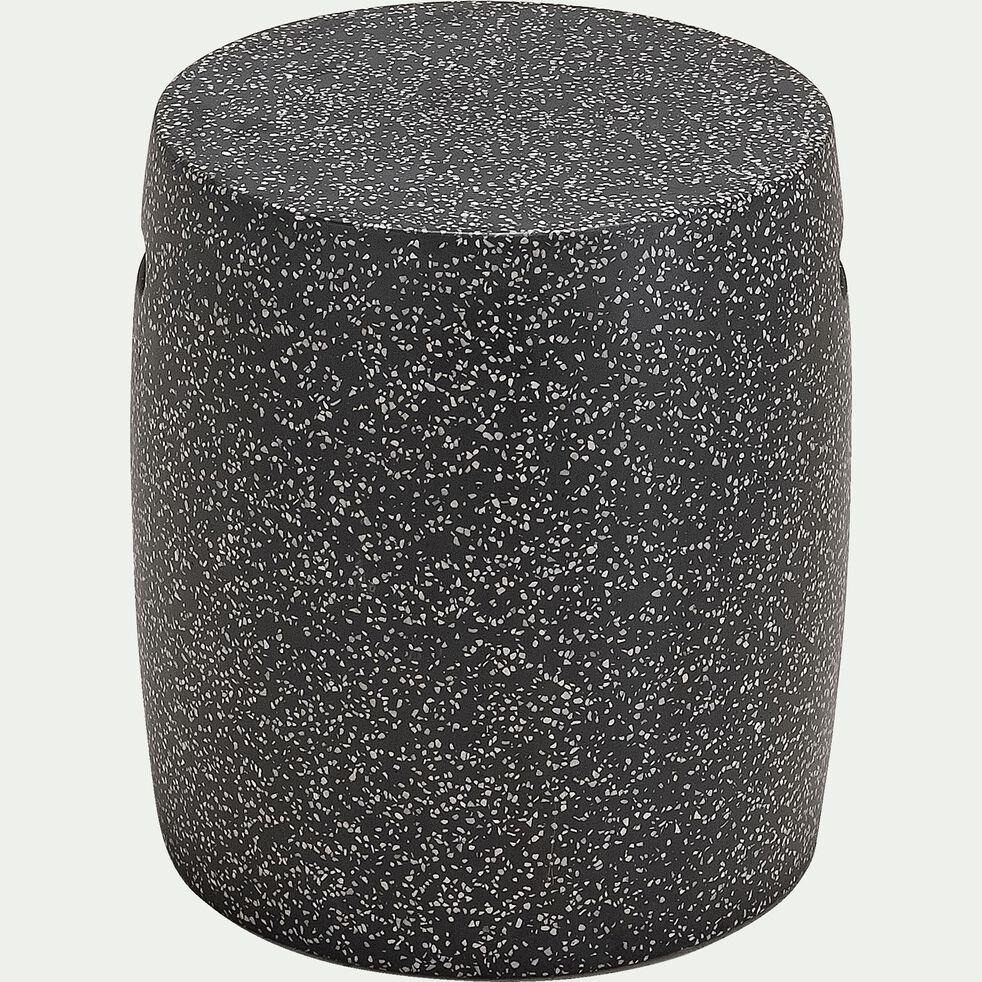 Tabouret de jardin en ciment - gris vésuve-Amalia