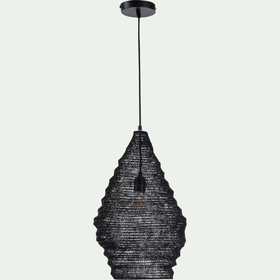 Suspension en fer - noir H50xD30cm-LOUP