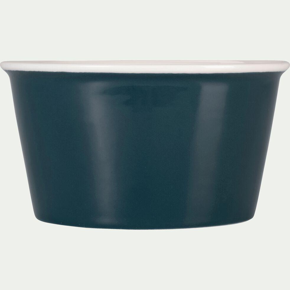 Coupelle en porcelaine bleu figuerolles D12cm-CAFI