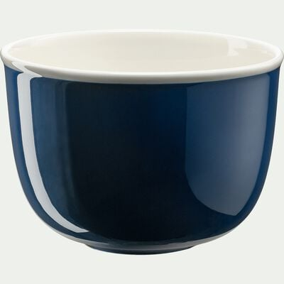 Saladier en porcelaine - bleu figuerolles D19cm-CAFI
