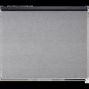 Store enrouleur voile gris anthracite 100x250cm-VOILE