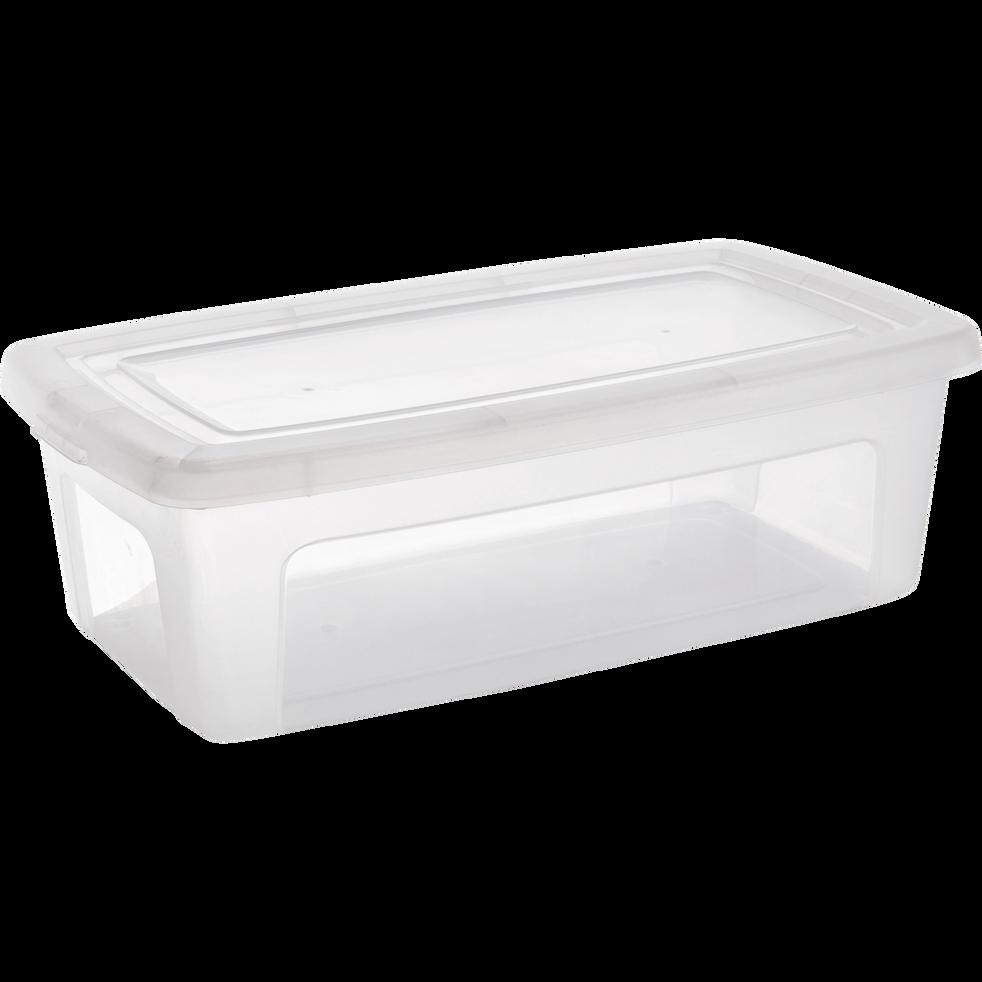 Boîte avec couvercle en plastique 5L-MODULAR