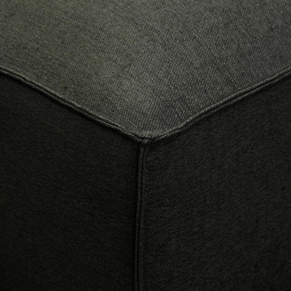 Petit pouf en tissu - L80xH40xl70cm bleu calabrun-REVERE