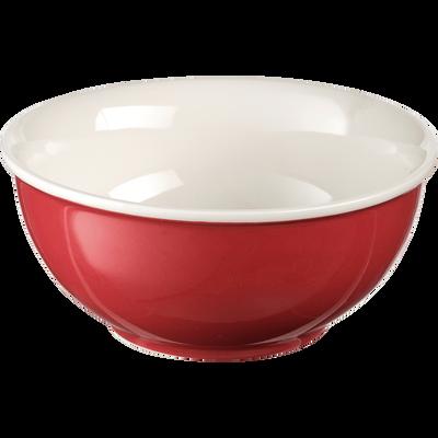 Bol en porcelaine rouge arbouse D12cm-CAFI