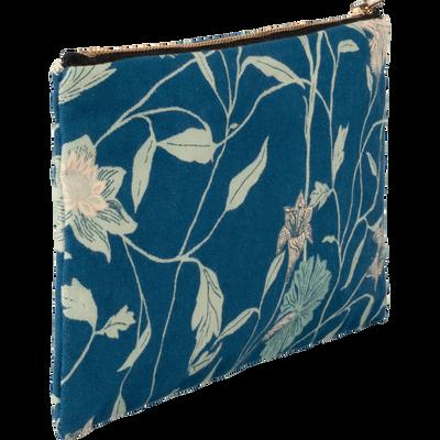 Pochette en tissu fleur de lys-ASMARA