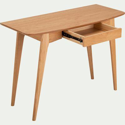 Console en bois avec un tiroir en façade-MARGOTA