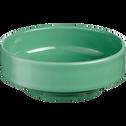 Coupelle en faïence vert d'eau D15,5cm-VADIM