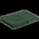 Serviette de toilette 50x100cm en coton vert cèdre-MINH