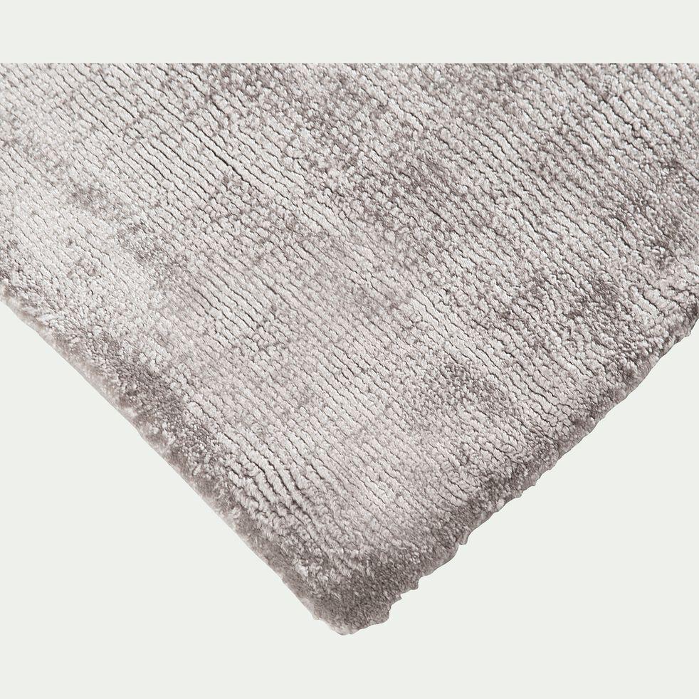 Tapis en viscose - gris 120x170cm-TANSEN