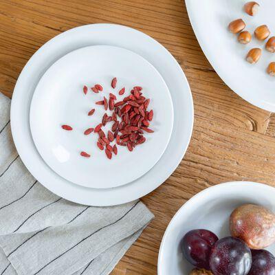 Saladier en porcelaine qualité hôtelière blanc-Eto
