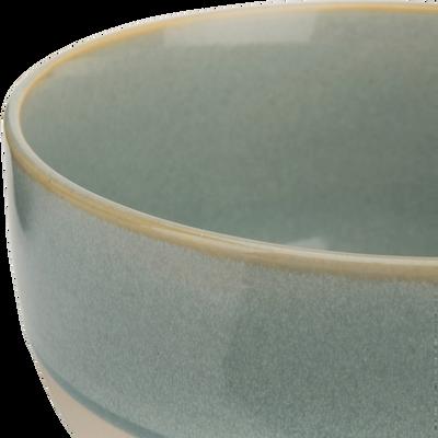 Bol en grès bleu clair D13,5cm-SANTAL