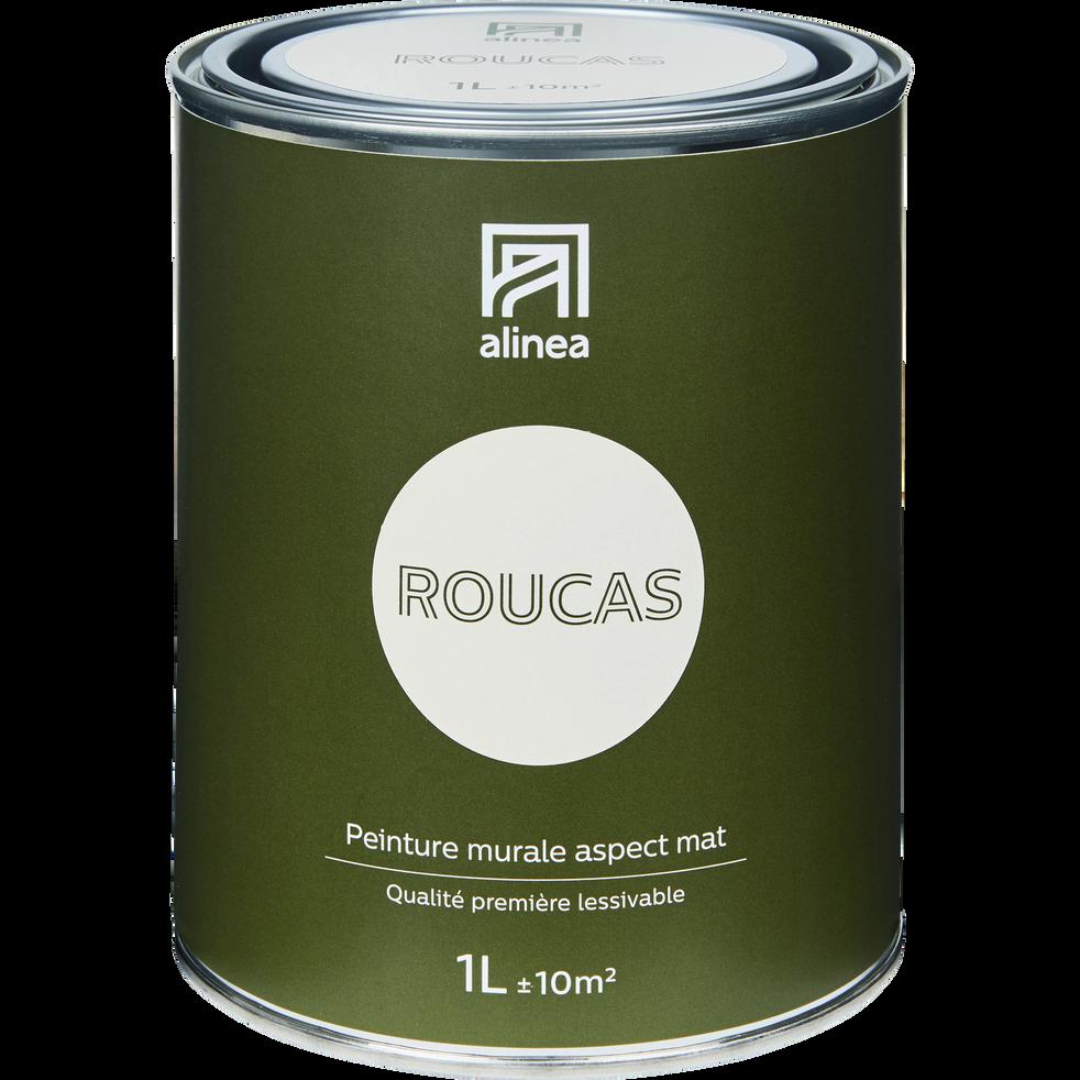 Peinture acrylique mate multi-supports 1L beige roucas-PEINTURE