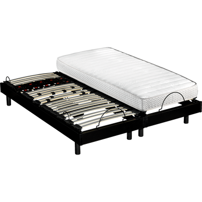 Ensemble de 2 sommiers de relaxation Epeda 17 cm - 2x80x200cm-RADIEUX
